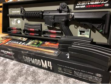 Tokyo Marui M4 SOPMOD Next Generation BlowBack AEG - 2