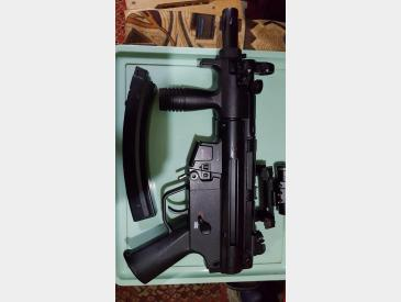 Vand replica HECKLER KOCH MP5 K - GBB co2 140 m/s