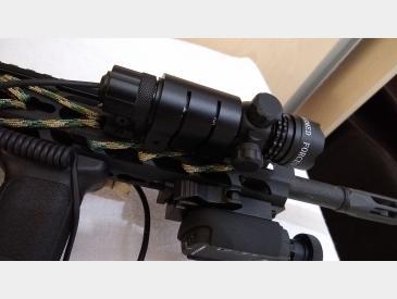 Laser tactic Green Dot Laser Sight airsoft sau vanatoare waterproof - 5