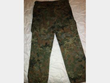 Pantaloni camuflaj german flecktarn XL - 4