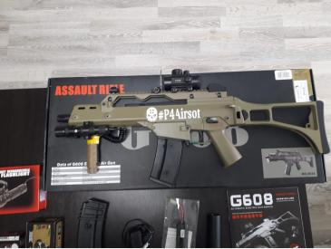 Replica airsoft G36C JG TAN - 3
