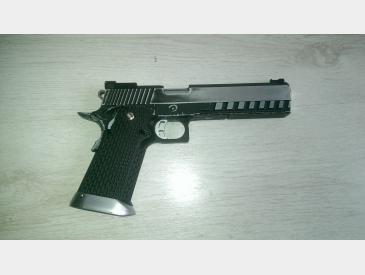 pistol Hi-capa kp- 06 kjw gas blow-back imbunatatit - 2