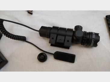 Laser tactic Green Dot Laser Sight airsoft sau vanatoare waterproof - 3
