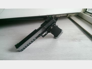 pistol Hi-capa kp- 06 kjw gas blow-back imbunatatit - 3