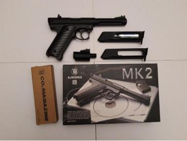 Pistol co2 KJW MK2 + accesorii