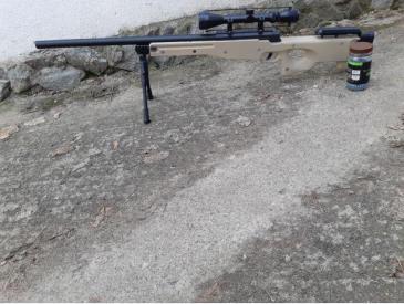 Vand arma airsoft l96 - 2