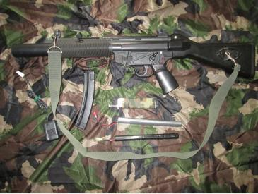 mp 5 classic army