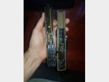 Replica pistol Shark Semi/Full Auto airsoft gas+co2 - 5