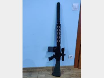 AR 15 DMR full upgraded