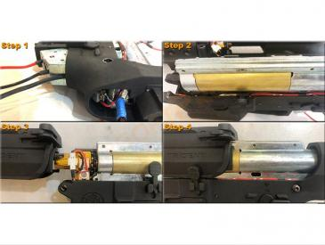 Maxx Model M4 / M16 CNC Alu HopUp MI PRO (ICS, VFC) - UV Led (tracer) - 4