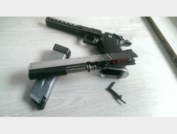 pistol Hi-capa kp- 06 kjw gas blow-back imbunatatit - 5