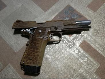 pistol Hi-capa kp05 kjw modat full auto only sau single fire only - 3