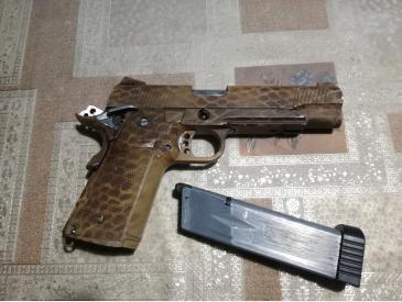 pistol Hi-capa kp05 kjw modat full auto only sau single fire only - 5