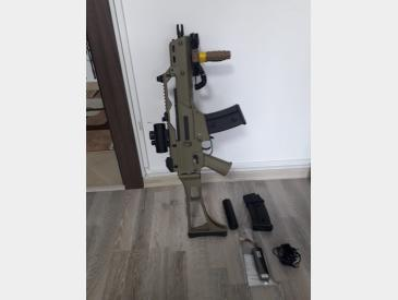 Replica airsoft G36C JG TAN - 5