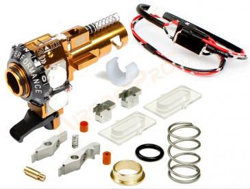 Maxx Model M4 / M16 CNC Alu HopUp MI PRO (ICS, VFC) - UV Led (tracer) - 3
