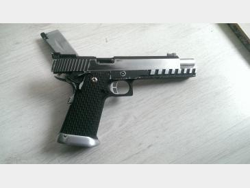 pistol Hi-capa kp- 06 kjw gas blow-back imbunatatit - 4