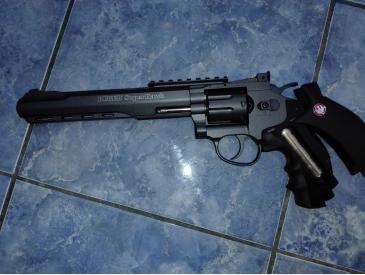 Pistol airsoft revolver