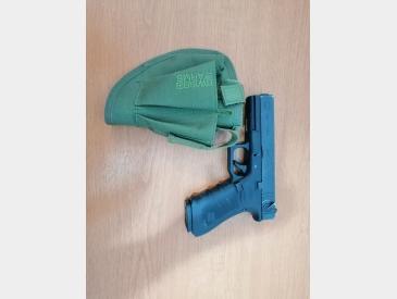 Glock 18c we greengas 2 mag+toc