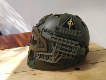 Casca FAST Gunner PJ Olive - 4