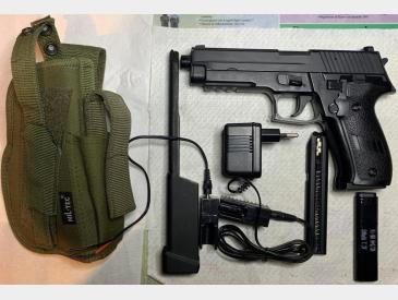 pistol electric, cyma p226 aep - VANDUT