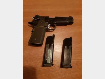 pistol KJW colt 1911 green gas full metal blowback - 5