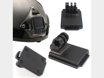 Airsoft Helmet NVG Mount Base pentru GoPro compatibil cu orice model - 5