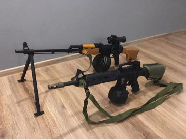 M4 MAGPULL Mid Lenght LMG