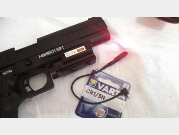 Laser tactic profil subtire montura picatinny 20mm red dot laser sight