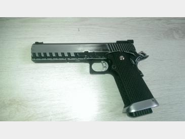 pistol Hi-capa kp- 06 kjw gas blow-back imbunatatit