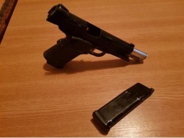 pistol KJW colt 1911 green gas full metal blowback - 4