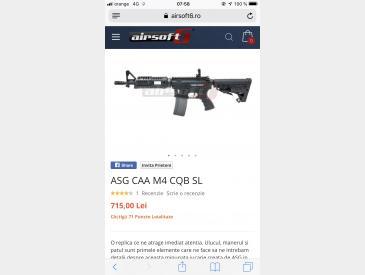 Se vinde M4 de la CAA - 2