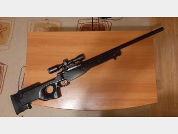 Replica sniper 002 (L96) negru AGM + Accesorii