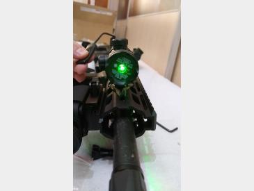Laser tactic Green Dot Laser Sight airsoft sau vanatoare waterproof - 4