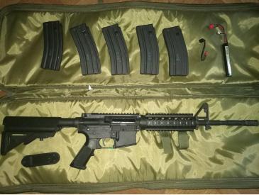 Tokyo Marui M4 SOPMOD Next gen recoil shock - 3
