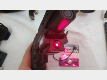 Laser tactic profil subtire montura picatinny 20mm red dot laser sight - 5