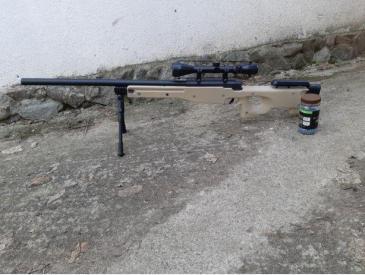 Vand arma airsoft l96