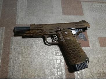 pistol Hi-capa kp05 kjw modat full auto only sau single fire only