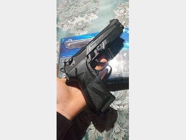 Pistol Airsoft Co2 Beretta 90 two, metal slide