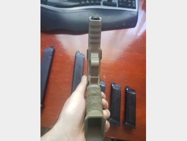 Replica pistol Shark Semi/Full Auto airsoft gas+co2 - 4