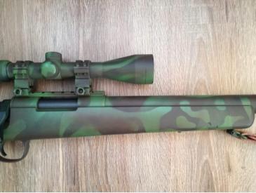 Airsoft Sniper VSR10 clona MB03 - 4