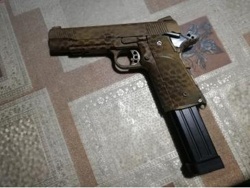 pistol Hi-capa kp05 kjw modat full auto only sau single fire only - 2