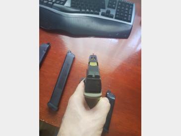 Replica pistol Shark Semi/Full Auto airsoft gas+co2 - 3