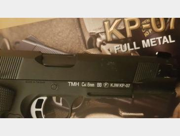 Vand Pistol Airsoft KJ Works M1911 MEU Full Metal - 3