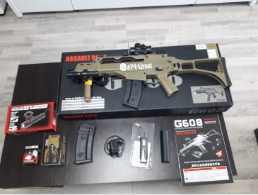 Replica airsoft G36C JG TAN - 1