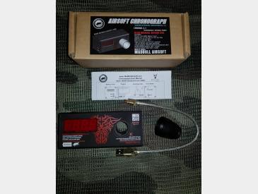 Airsoft Chronograph Madbull Revolution Ver. 2.1